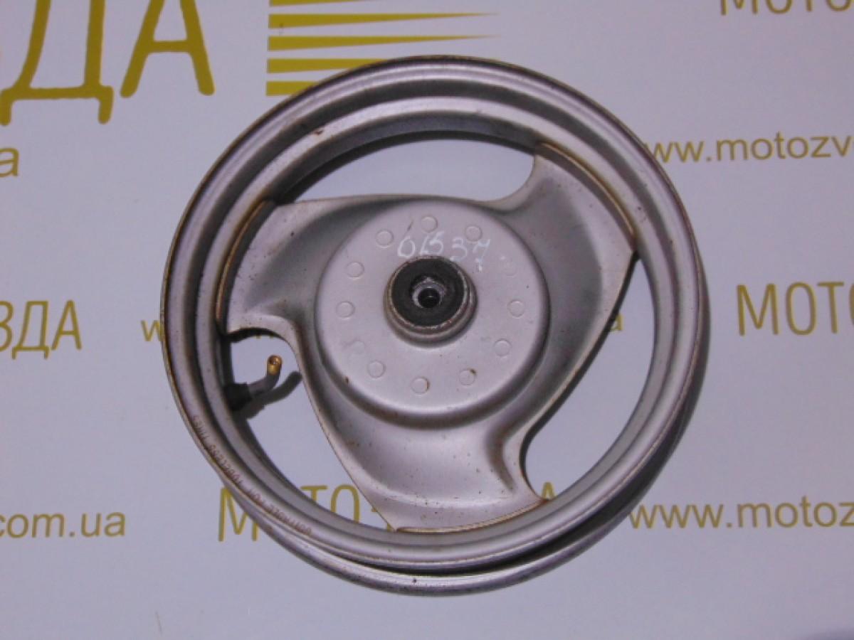 Диск передний (метал) Yamaha JOG SA36J/3KJ/5BM 110.5mm.