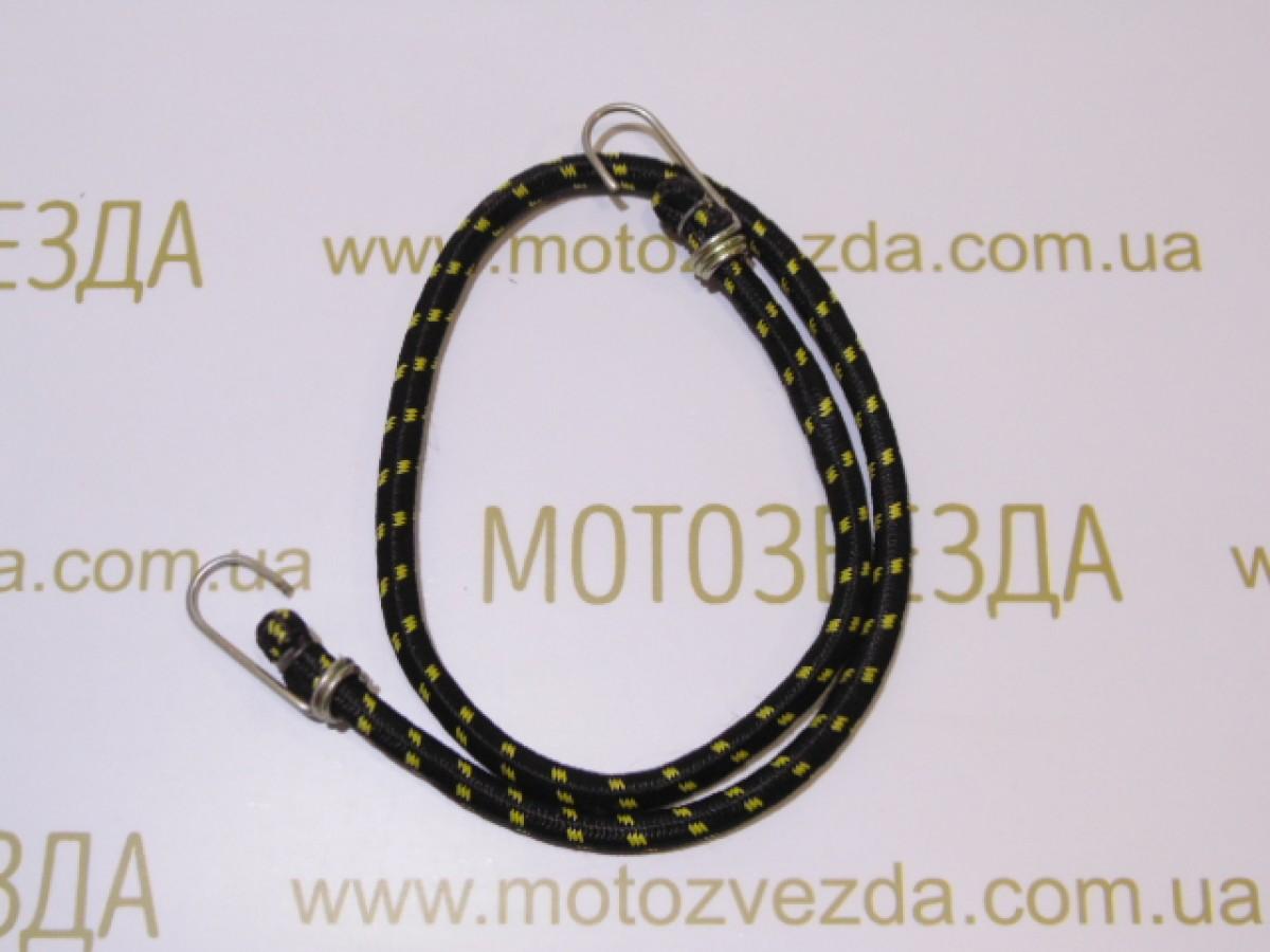 РЕЗИНКА БАГАЖНИКА круглая с крючками метал. 1,0метр