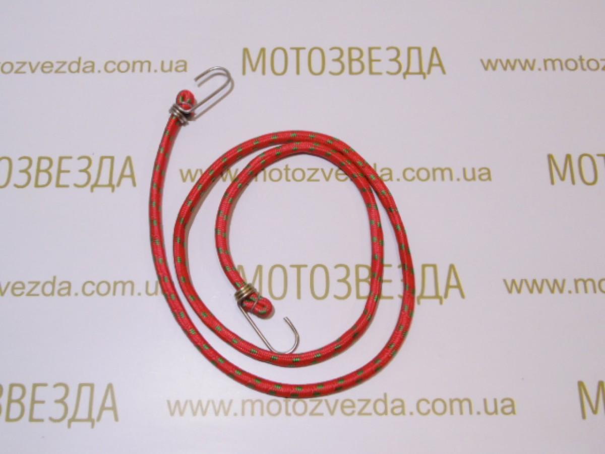РЕЗИНКА БАГАЖНИКА круглая с крючками метал. 1,5метр