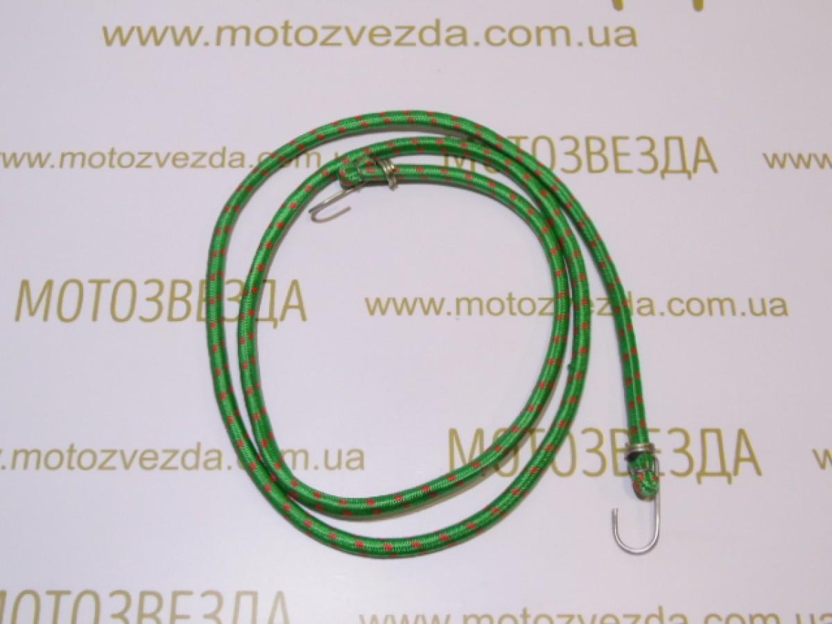 РЕЗИНКА БАГАЖНИКА круглая с крючками метал. 2,0метр