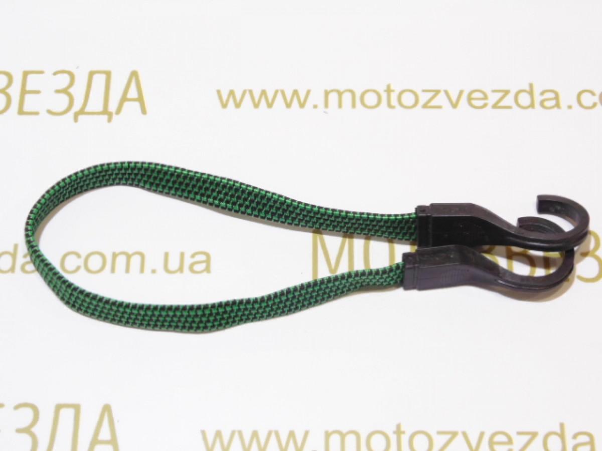 РЕЗИНКА БАГАЖНИКА плоская с крючками пластик. 0,5метр